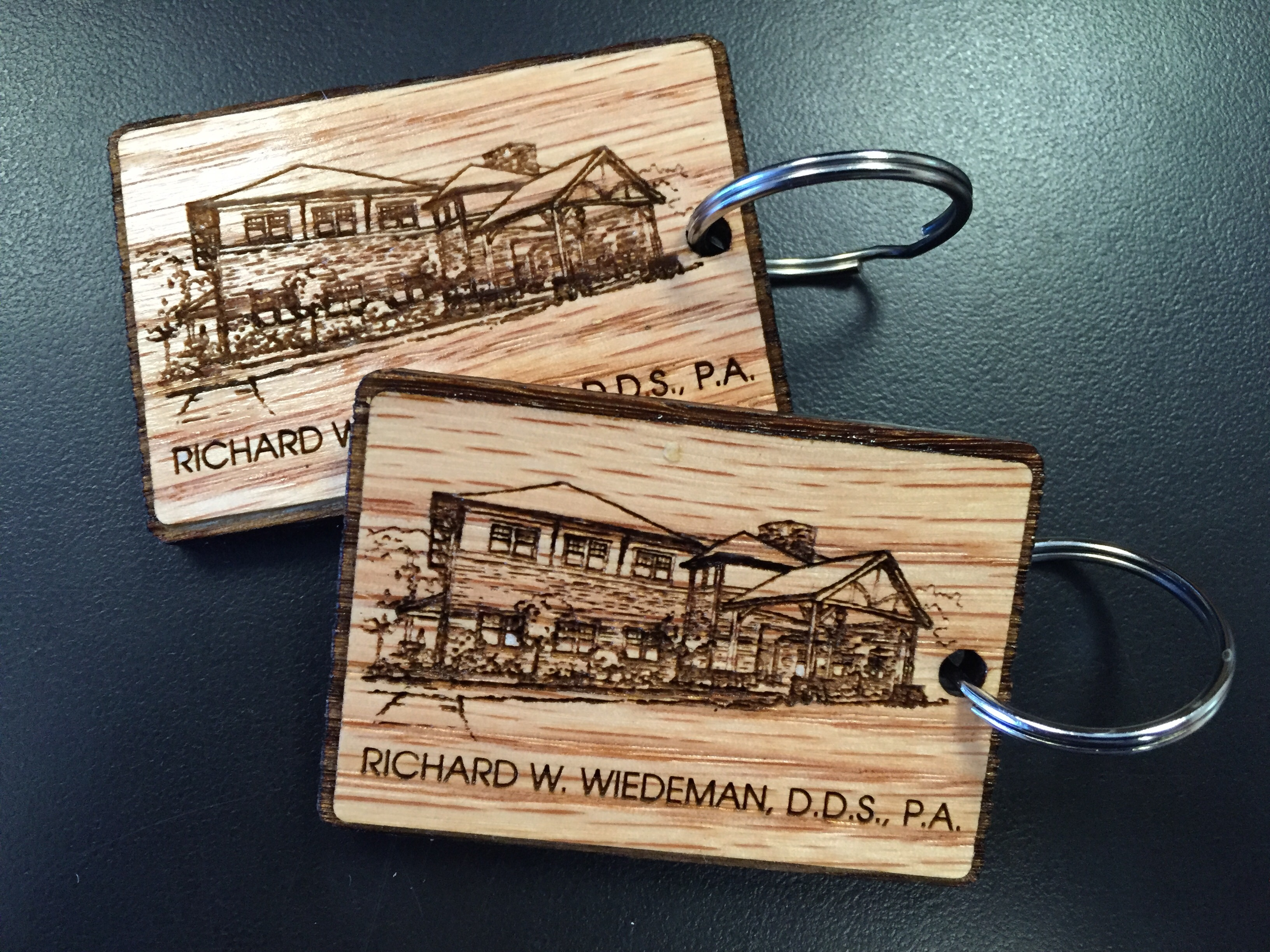 Laser Engraving - Richard W. Wiedman DDDS