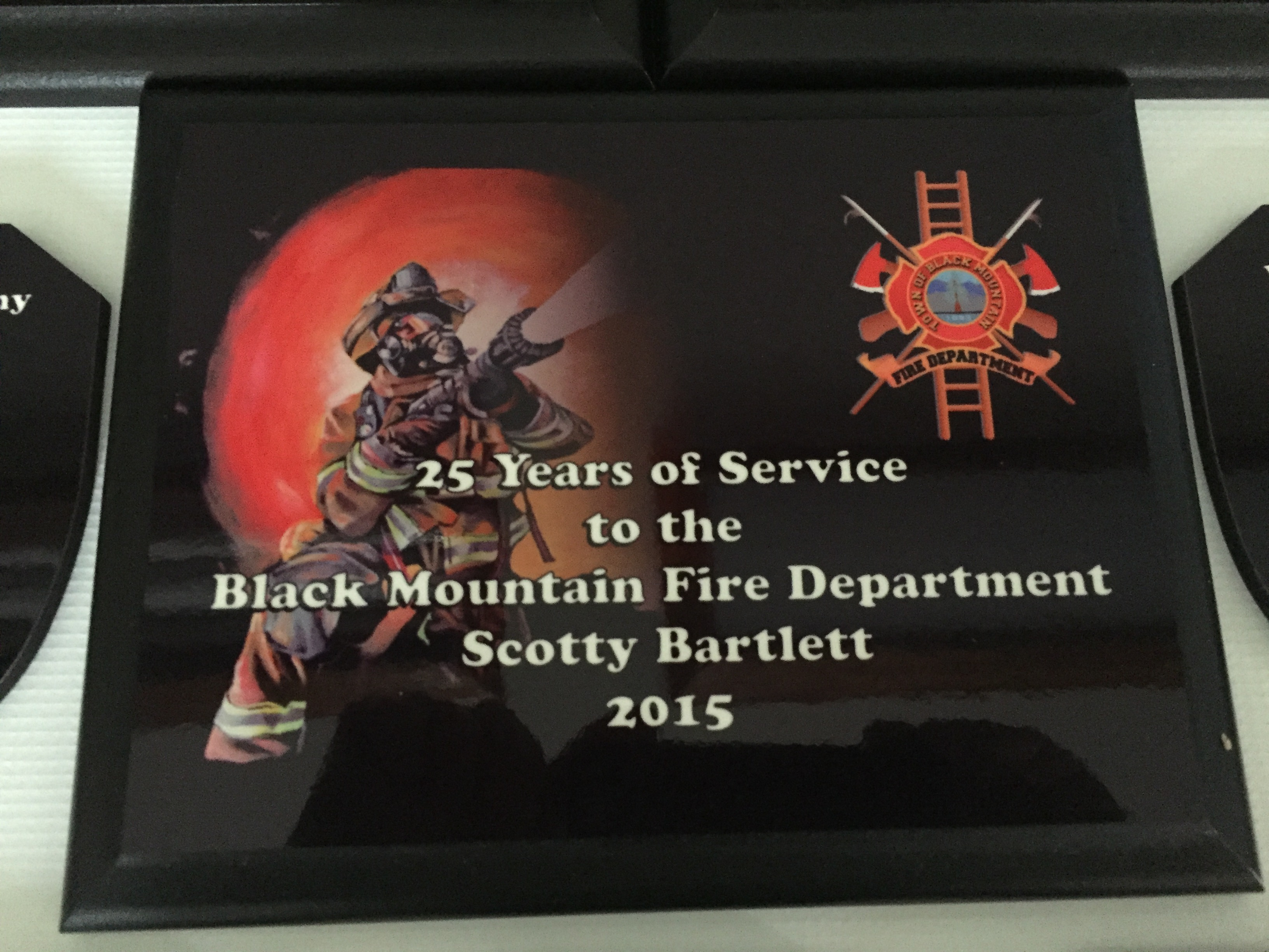 Dye-Sublimation for Black Mountain Fire Department